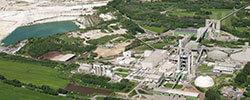 Holcim plant site